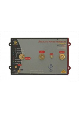 Sterling ProSplit-R Zero Volt Drop Marine Battery Isolator (24V,240 Amp,2 Banks)