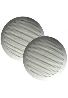 Majestic SPK60 Ultra Slim 6- Speakers 30W - White Pair