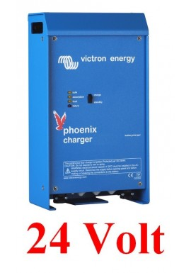 Victron Phoenix 50A Battery Charger 2 Banks Plus 1 Start Bank Marine and RV