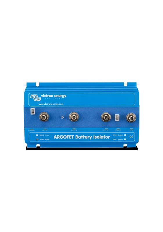 Victron 2 Battery 100 Amp Argo Fet Battery Isolator 100-2