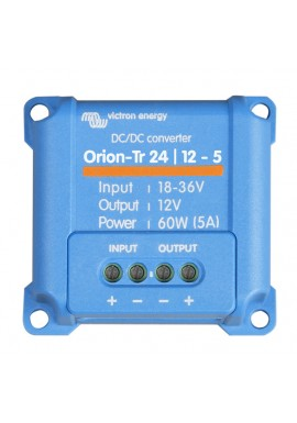 Victron 24V to 12V 5 Amp 60W Orion-Tr DC-DC Converter Non Isolated 24/12-5