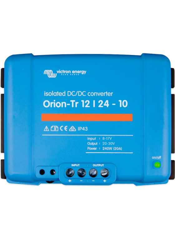 Orion-Tr 12/12-30A (360W) Isolated DC-DC converter