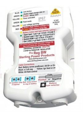 Sterling Power ProReg-BW Waterproof Advanced Alternator Regulator